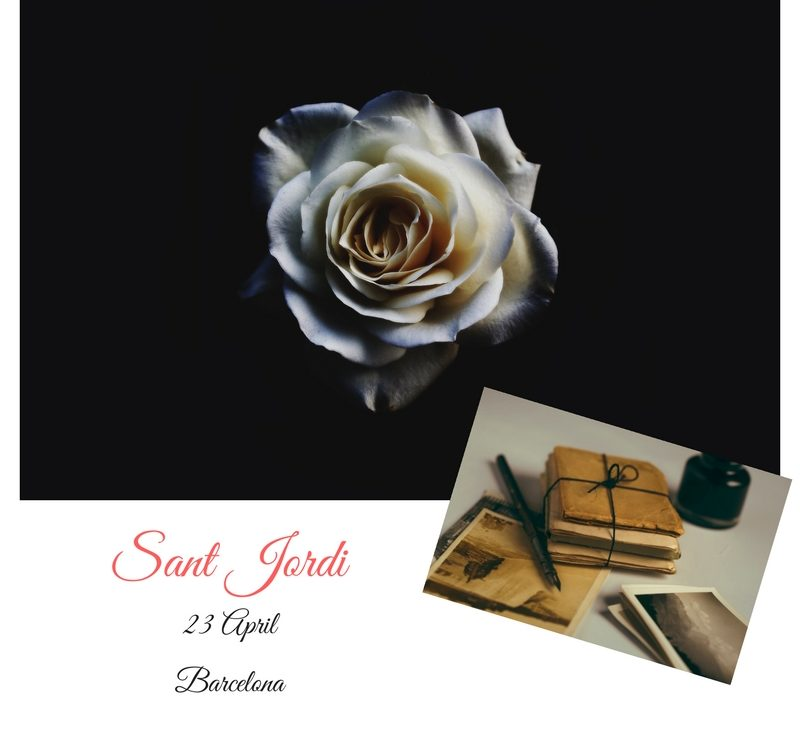 Sant Jordi - a day of roses and books
